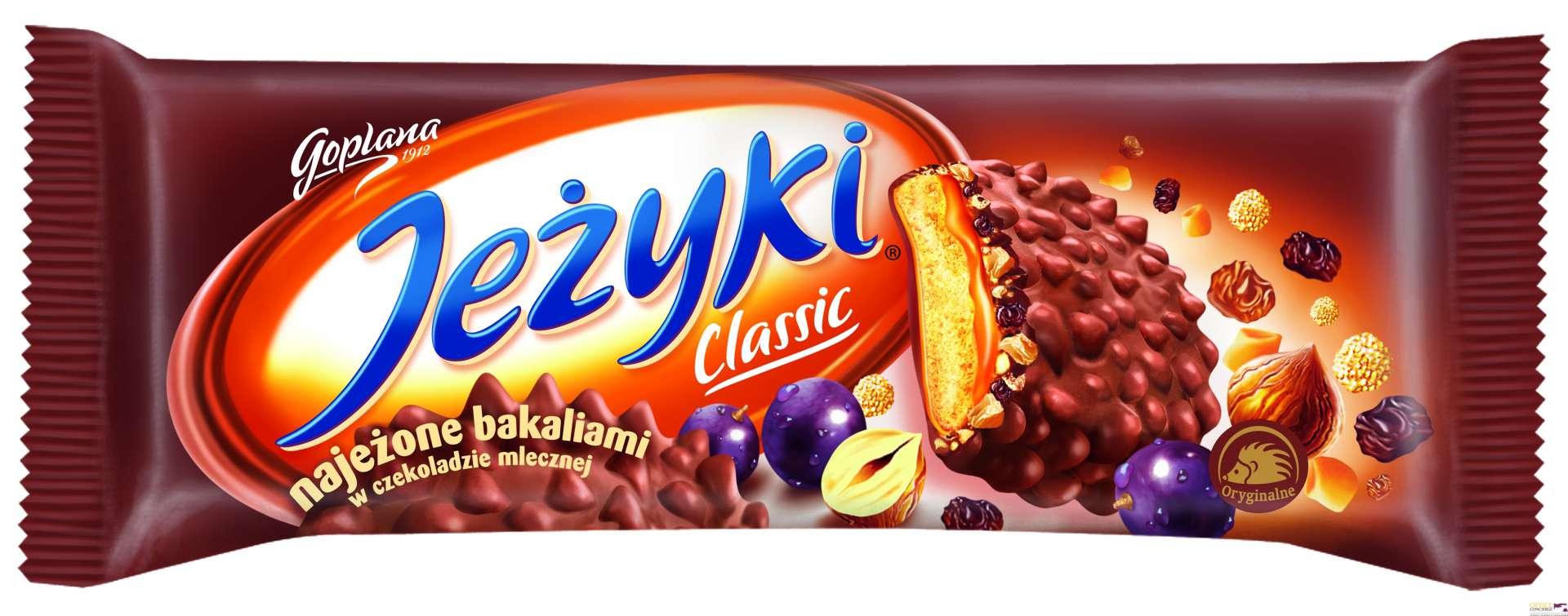 Ciastka JEŻYKI JUTRZENKA 140g Classic