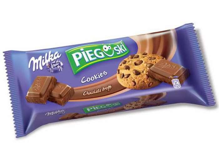 Ciastka Milka Pieguski 135g czekoladowe