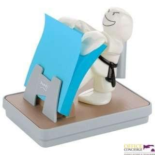 Podajnik KARATE Z-Notes + niebieski  Super Sticky POST-IT (76x76mm) HK100008380