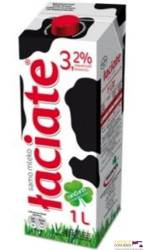 Mleko ŁACIATE UHT 3,2% 1 litr