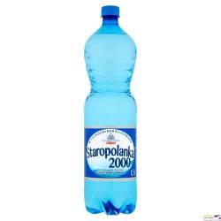 Woda mineralna STAROPOLANKA 2000 1,5 litra (zgrzewka 6 szt.) lekko gazowana