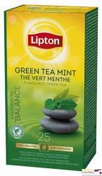 Herbata LIPTON Green Tea Mint, 25 kopert