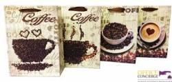 Torebka Lux duża A4 kawa (12) ROZETTE