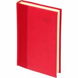 Kalendarz A4 tygodn. reg. Carbon Paris czerwony 1306R-PARIS CZERWONY WOKÓŁ NAS