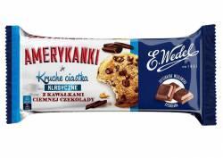 Ciastka Amerykanki Klasyczne, kruche z czekoladą, Wedel, 125g