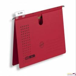 Skoroszyt wiszący ELBA CHIC czerwony 100552097
