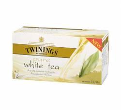 Herbata biała Twinings 50 g, 25 torebek z zawieszką