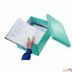 Pudełko LEITZ Click & Store A4 turkusowe 60440051