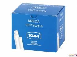 Kreda TOMA biała 100szt OM-80200