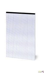 Blok notatnikowy OFFICE A5 50K 70G kratka zszywany bez okładki TOP2000