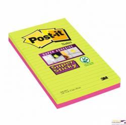 Bloczki 3M POST-IT 5845-SSU 125x200mm 270k linia Super Sticky 70005253581