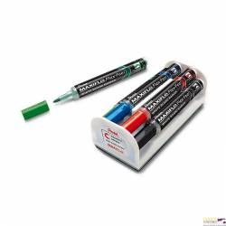 Zestaw markerów suchościeralnych z elastyczną końcówką PENTEL
