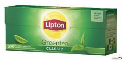 Herbata LIPTON green tea classic, 25 torebek