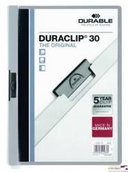 Skoroszyt DURABLE DURACLIP Original 30 szary 2200-10