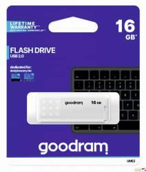 Pamięć USB GOODRAM 16GB UME2 biały USB 2.0 UME2-0160W0R11