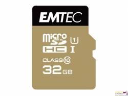 Pamięć MicroSD EMTEC 32GB MicroSDHC CL10 GOLD+ ECMSDM32GHC10GP