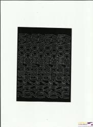 LITERY samop.1.5cm(8) czarne ARTDRUK