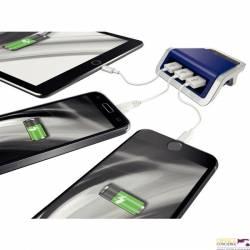 Ładowarka LEITZ STYLE na 3 porty USB niebiesk 62070069