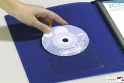 Kieszeń samop.CD/DVD (10)8080 z klapką u góry