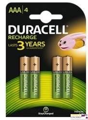 Akumulatorki AAA 800/850mAh B4(4szt.) DURACELL 4620133