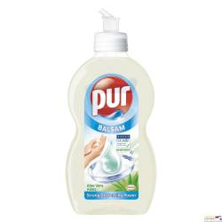 Płyn do mycia naczyń PUR 450 ml balsam aloesowy