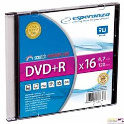 DVD+R ESPERANZA 4,7GB x16 - Slim 1 1119