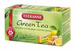 Herbata zielona z imbirem i cytryną Teekanne Green Tea Ginger & Lemon, 20 torebek