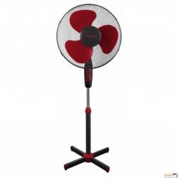 Wentylator stojący ESPERANZA czarno-czerwony EHF001KR HURRICANE