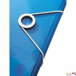 Teczka 6przegródek LEITZ WOW A4 niebieska 250k 45890036
