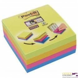 Bloczek POST-IT 76x76mm mix 4x75 kolorów Super Sticky 2014-SC-BYFG UU003083563
