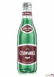 Woda Cisowianka 0,3 litra, mocno gazowana, w szklanej butelce