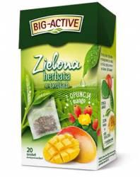 Herbata BIG-ACTIVE opuncja i mango, zielona 20 torebek