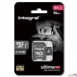 Pamięć MicroSD INTEGRAL 64GB SDHC/XC CL10 INMSDX64G10-90U1