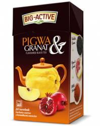 Herbata Big-Active Herbata czarna - PIGWA I GRANAT, 20 torebek z zawieszką