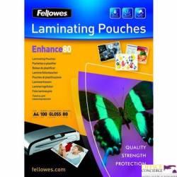 Folia do laminowania FELLOWES 80 mic A4 100szt 5306101