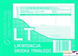 421-5 LT Likwidacja środka trwałego MICHALCZYK I PROKOP