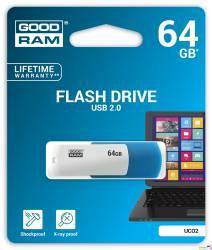 Pamięć USB GOODRAM 64GB UCO2 miks kolorów USB 2.0 UCO2-0640MXR11