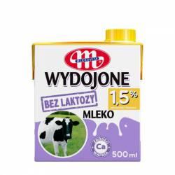 Mleko bez laktozy Mlekovita WYPASIONE 1,5% 500ml