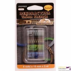 Taśma dekoracyjna ZAMEK 15x3 (4) DT-420 DTA 15006