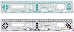 Linijka wielofunkcyjna GEONotes 30cm MAPED 250x10