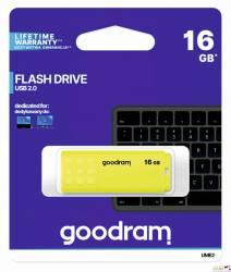 Pamięć USB GOODRAM 16GB UME2 żółty USB 2.0 UME2-0160Y0R11