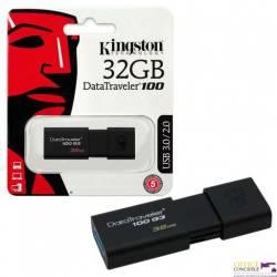 Pamięć USB KINGSTON 32GB 3.0 DT100G3/32GB DataTravelr100