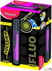 Zakreślacz FLUO PEPS max różowy MAPED 742936