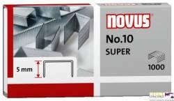 Zszywki NOVUS No 10 1000szt. 040-0003