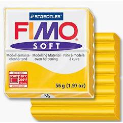 FIMOsoft, masa termoutwardzalna 56g, niebiesk S 8020-386