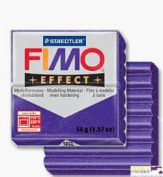 FIMOeffect, masa termoutwardzalna 56g, srebrn S 8020-81