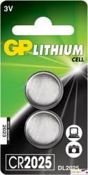Bateria litowa GP CR2025-U2 3.0V GPPBL2025088