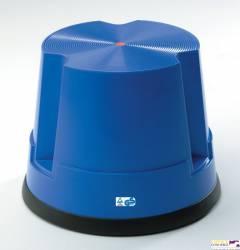 Taboret biurowy TWIN EASY STOP niebieski 6200-5 TWINCO