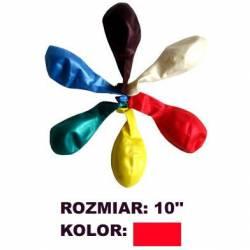 Balony 10 METALIK czerw.(100) KW TRADE
