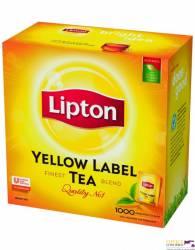 Herbata LIPTON Yellow Label 1000 saszetek (10 tacek x 100 saszetek)